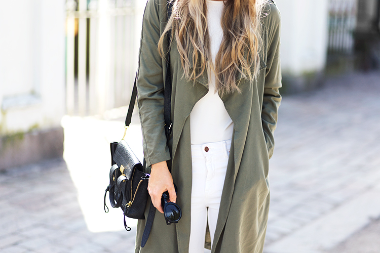 army-green-trench