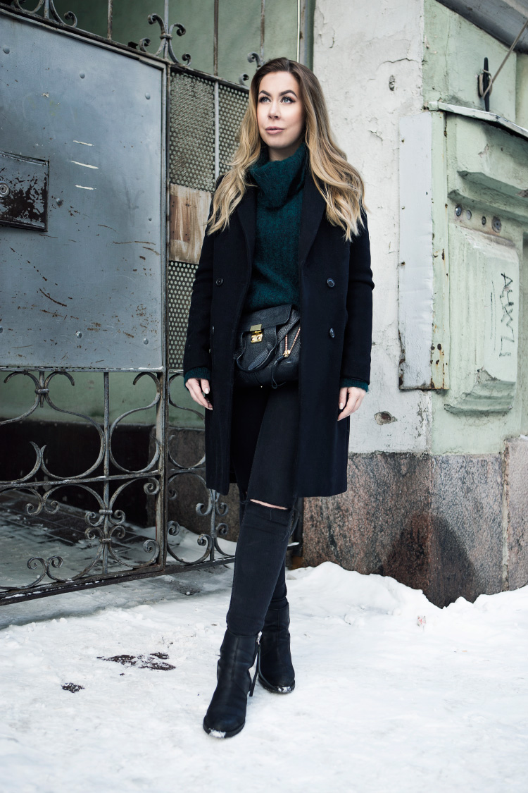 black-green-outfit