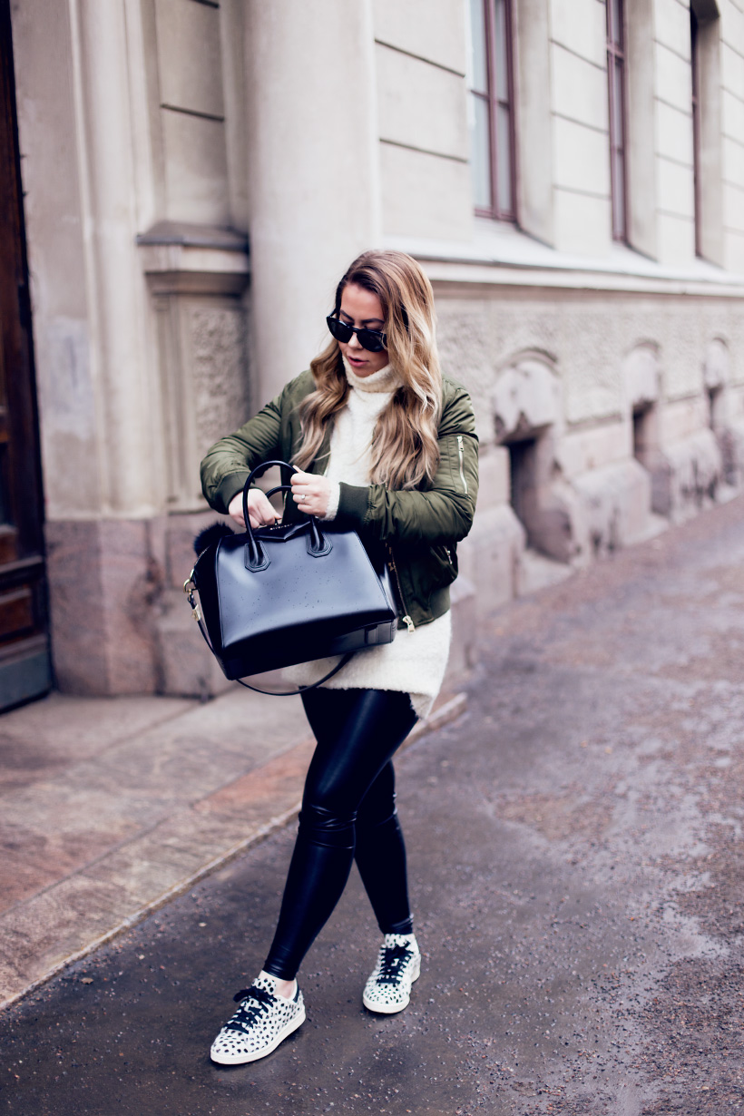 green-bomber-outfit