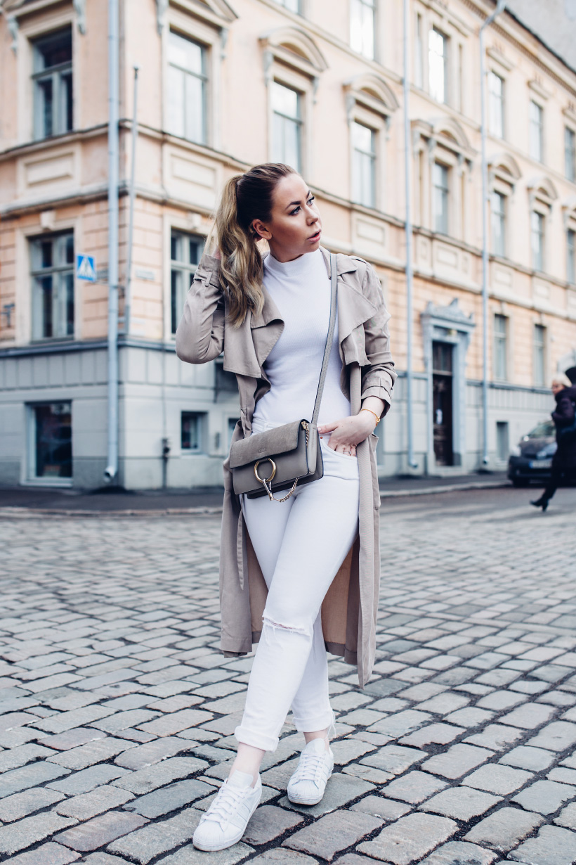 all-white-trench-coat